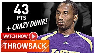Throwback: Kobe Bryant Full Highlights vs Celtics (2007.01.31) - 43 Pts, 8 Ast, 8 Reb, SICK!