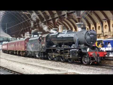 48151 with The Scarborough Spa Express at York on 2nd June 2016