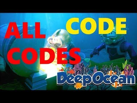 ALL CODES IN DEEP OCEAN ROBLOX 2019 - YouTube