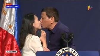 Philippinischer Präsident: Duterte erzwingt Kuss vor Publikum