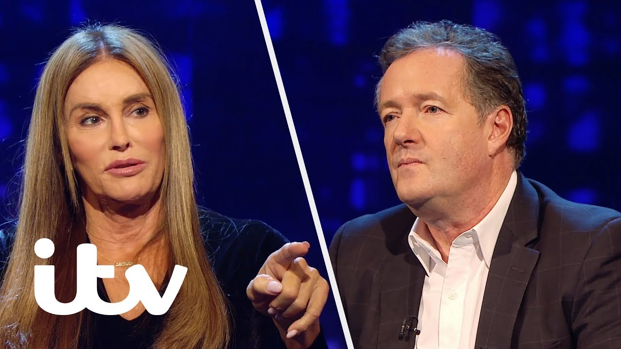 Caitlyn Jenner Shuts Down Piers Morgan After Offensive Comment | Piers  Morgan's Life Stories
