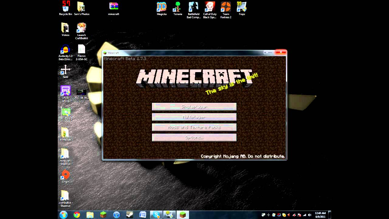 Minecraft Black Screen Fix NEW and Old Launcher