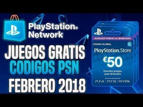 Como Conseguir Códigos Psn 50 Gratis Febrero 2018 Truco Juegos Gratis Ps3 Ps4 Play Station