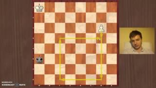Pawn endgames   Square rule 2