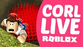 CORL LIVE - ROBLOX #11 IF YOU LET GO YOU WILL BREAK YOUR BONES!