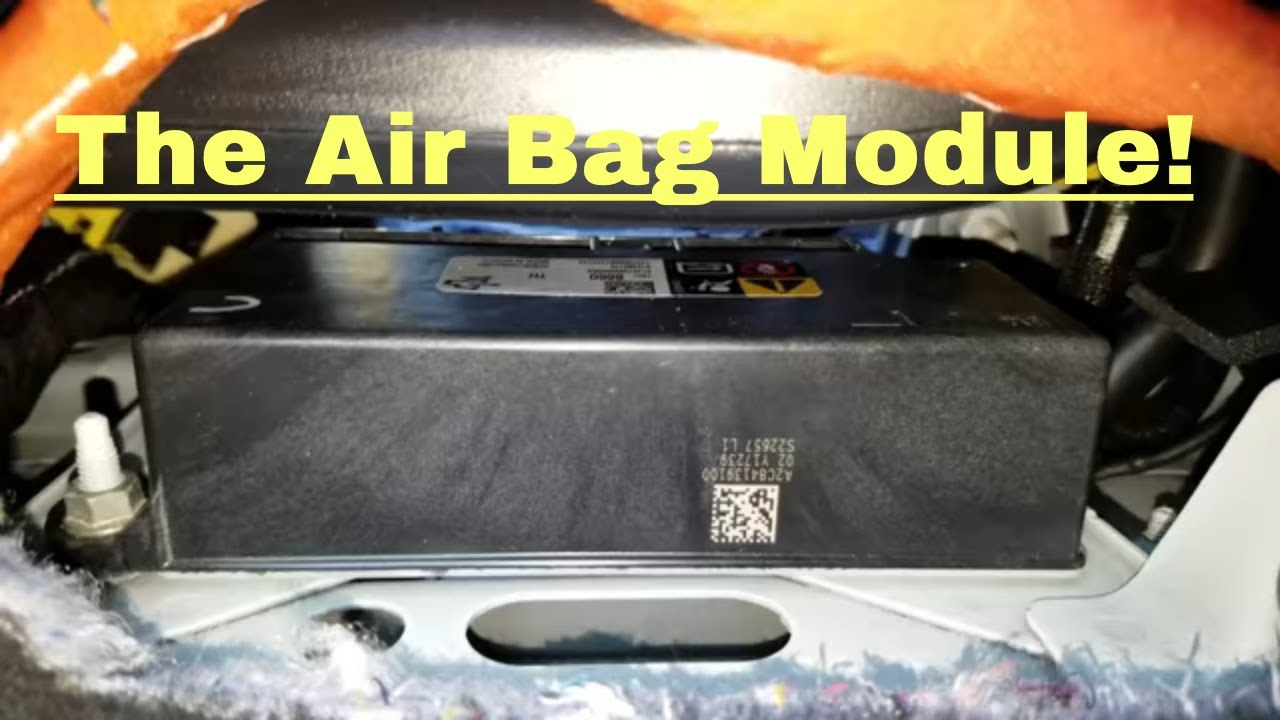 How to remove Air Bag Module  Airbag Module Removal and