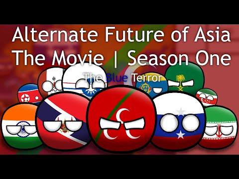 Alternate Future of Asia in countryballs Season 1- The Movie: The Blue terror