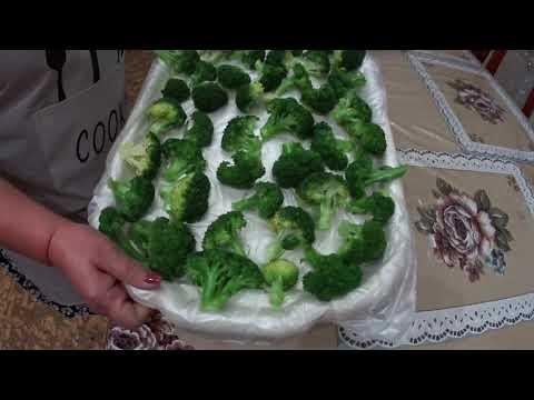 Как замораживать брокколи