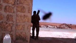 Сирия Syria HD ★ Контратака танков ДАИШ в Ум Хош