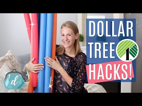 DOLLAR TREE Pool Noodle Hacks You Will ACTUALLY USE! 💕