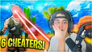 Fortnite HACKERS Are Taking Over PRO Matches! (Cloakzy Runs Into 6 CHEATERS)