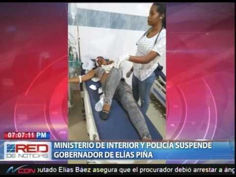 Ministerio de interior y polic a suspende gobernador de for Ministerio de interior y policia