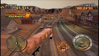 Big Mutha Truckers 2 PS2 Gameplay HD (PCSX2)