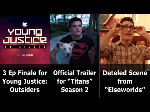 """Official Trailer for """"Titans"""" Season 2 - Speeding Bulletin (August 21-27, 2019)"""