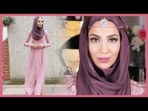 GET READY WITH ME: EID 2016 MAKEUP + HOOJAB | Amena