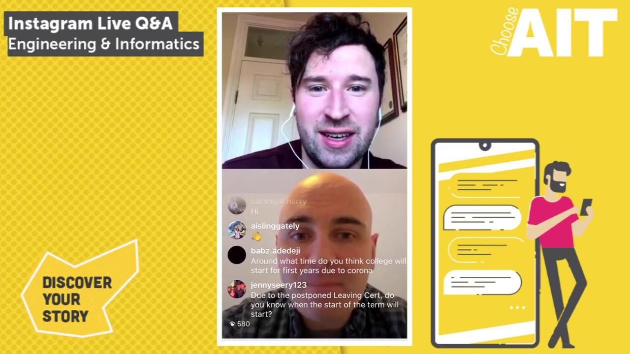 Instagram Live CAO Q&A | Engineering & Informatics