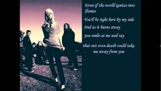 World in Flames - In This Moment (with lyrics)