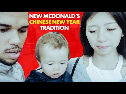 New McDonald's Chinese New Year Tradition / Day 44