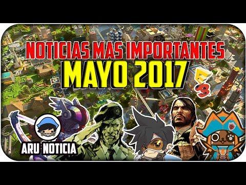 NOTICIAS MAYO 2017 - Videojuegos | E3 2017 | Lo mejor