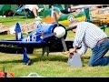 1/4 SCALE RC HAWKER SEAFURY - MOKI 300cc 5 CYL RADIAL TREVOR WOOD WILLIS WARBIRDS - 2016