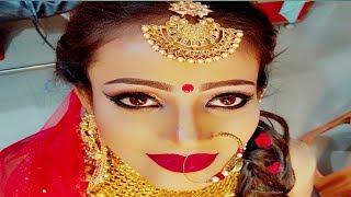 Best Bridal Makeup 2019# kryolan derma bridal makeup # Natural Bridal makeup 2019
