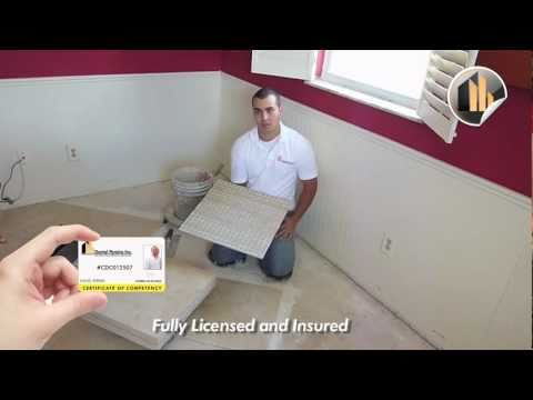 Porcelain Tile Installation Tips and Tricks | Ceramic Tile Dade City FL