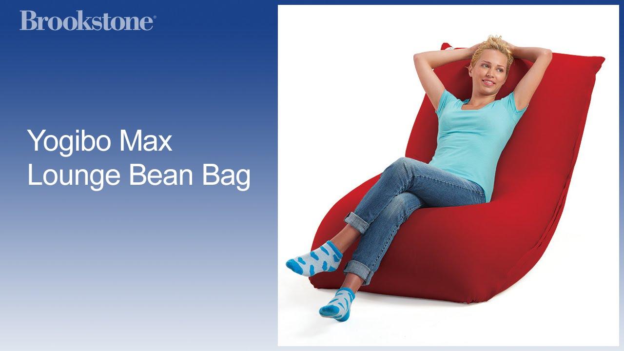 Yogibo Max Lounge Bean Bag   YouTube