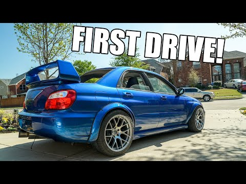 Sti Wing Install On The Wrx Youtube
