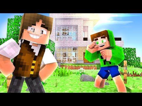 A NOVA CASA DO SPOK e JAZZ - Minecraft Secreto ♥