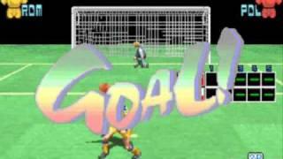 Taito Power Goal - arcade soccer game - 1994