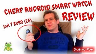 Cheap android smart watch 2018 Carneo review