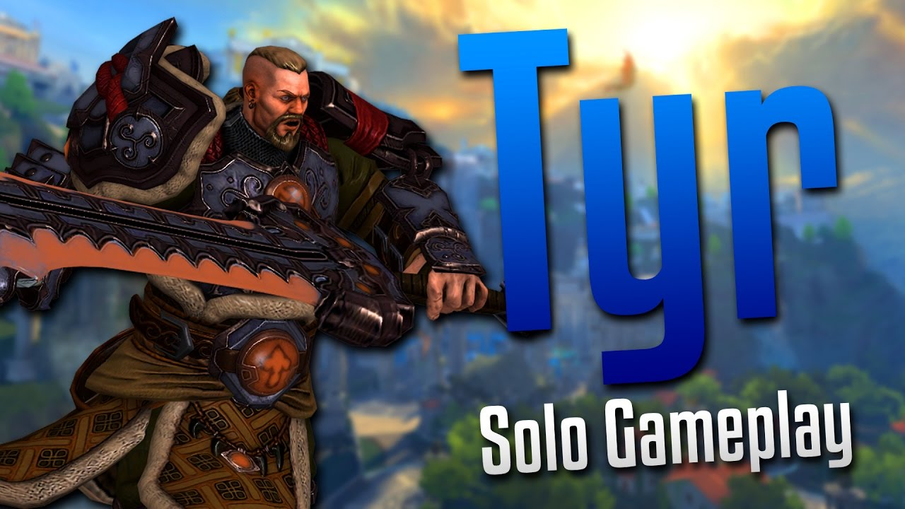 Smite: IMPOSSIBLE TO KILL!- Tyr Solo Gameplay