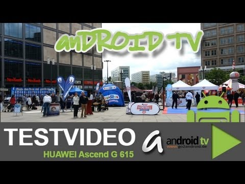 HUAWEI Ascend G615 - Video example - android tv
