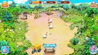 Ферма для детей. Прохождение игры Farm frenzy. Alawar. game for kids. free app Игры для детей.