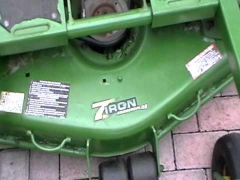 JD F687 Z-trak - YouTube