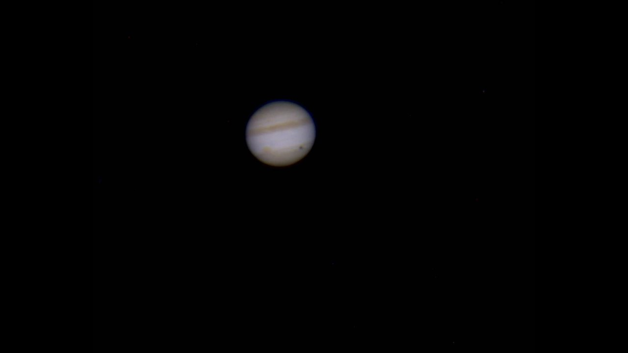 Raw Footage of Jupiter Captured with the Orion StarShoot Solar System Color  Imaging Camera IV
