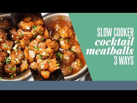 slow-cooker-cocktail-meatballs-3-ways