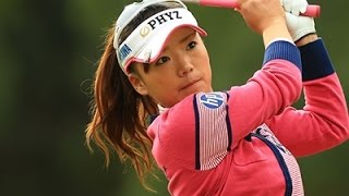 [ゴルフ/Golf]ちえゴルフ!有村智恵 マー君軍団とガチンコ対決 1/14 有村智恵 検索動画 8
