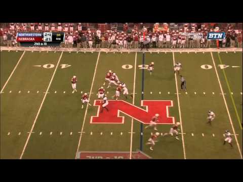 Nebraska Hail Mary vs Northwestern