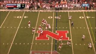 Nebraska Hail Mary vs Northwestern