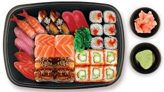 видео: Суши, как быстро приготовить суши в домашних условиях