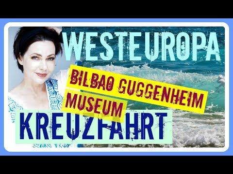 MSC Kreuzfahrt Westeuropa BILBAO GUGGENHEIM Museum - Reise Urlaub Vlog