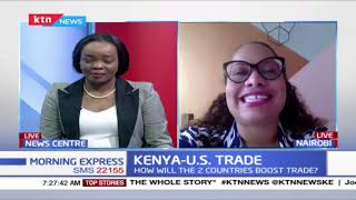 How will the US and Kenya are to boost trade
