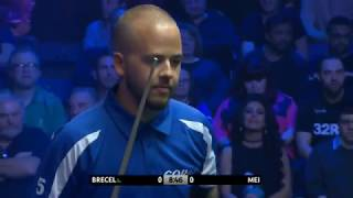 Luca Brecel Vs Mei •R2• |Coral shoot out 2018|