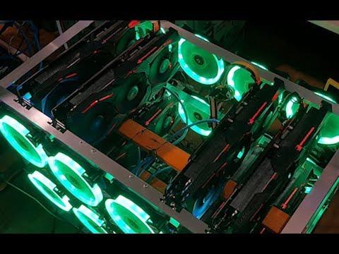 Building An 8 GPU RX 580 8gb Mining Rig | Asus Strix - Samsung Mem | Biostar TB250
