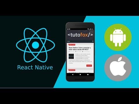 Tutorial React Native - Fetch API REST thumbnail
