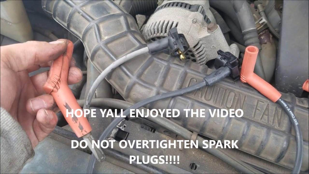 hight resolution of how to replace spark plugs and wires 6 cylinder ford ranger