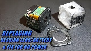 How To Replace GoPro Session Lens, Battery, & No Power Fix