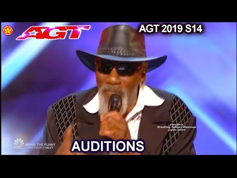 Robert Finley Blind Veteran Original Song Get It While You Can   America's Got Talent 2019 Audition