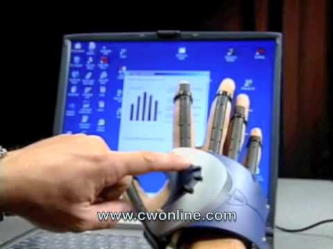 Virtual Reality P5 Data Glove Installation Instruction Video